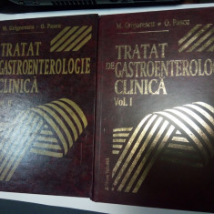 TRATAT DE GASTROENTEROLOGIE CLINICA - M. Grigorescu, O.Pascu - 2 volume - Carte Gastroenterologie
