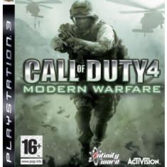 CALL Of DUTY 4 Modern Warfare Joc PS3 Original - Jocuri PS3 Activision, Shooting, 16+