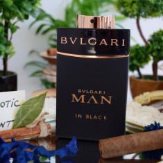 Parfum Original Bvlgari - Man In Black +CADOU - Parfum barbati Bvlgari, Apa de parfum, 100 ml