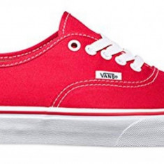 Tenisi unisex Vans Authentic VN000EE3RED - Tenisi barbati Vans, Rosu