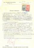 Z472 DOCUMENT VECHI -LICEUL TEORETIC DE FETE , BRAILA- AUREL MATEESCU -1942