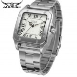 Ceas Jaragar Jar029 Automatic Metal White Square