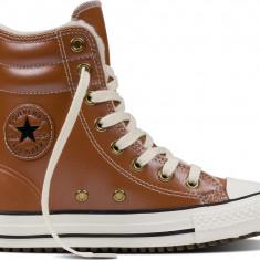 Tenisi Originali Converse Chuck Taylor All Star Hi Rise 653390C - Adidasi dama Converse, Maro