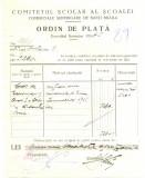 Z450 DOCUMENT VECHI-COMITETUL SCOALEI COMERCIALE SUPERIOARE DE BAIETI, BRAILA