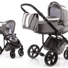 Carucior copii 2 in 1 cu landou Volkswagen Carbon Optik Grey MyKids