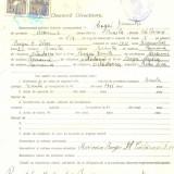 Z466 DOCUMENT VECHI -LICEUL TEORETIC DE FETE, BRAILA - BOGOI DUMITRU- 1942 - Hartie cu Antet