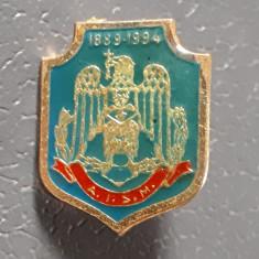 Insigna militara - Academia de inalte studii militare - A.I.S.M. - 1994