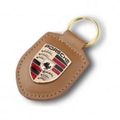 Breloc Cheie Porsche Bej