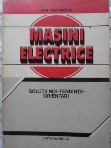Masini Electrice  Solutii noi-Tendinte