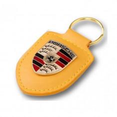 Breloc Cheie Porsche Galben