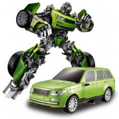 NOU! ROBOT TRANSFORMERS 2IN1,SE TRANSFORMA IN MASINUTA,ROBOT SI MASINUTA DE FIER, Metal, Unisex