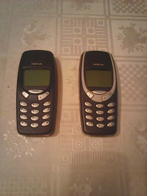 Telefon mobil Nokia 3310 cu incarcator, baterie noua P58 foto