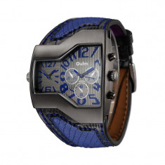 Ceas Militar OULM006 Blue Unique - Ceas barbatesc