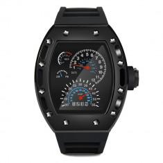 Ceas Barbati CBB035 Premium Black LED - Ceas led