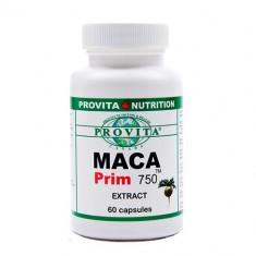MACA PRIM Ginseng de Peru 60 capsule - Energizante