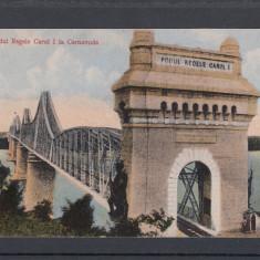 CERNAVODA PODUL REGELE CAROL I LA CERNAVODA - Carte Postala Dobrogea 1904-1918, Necirculata, Printata