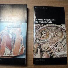 H. - I. MARROU - ISTORIA EDUCATIEI IN ANTICHITATE - VOL.1 + VOL.2 - Studiu literar