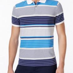 Tricou polo Tommy Hilfiger STR M L (editie exclusiv online) - Tricou barbati Tommy Hilfiger, Culoare: Din imagine, Maneca scurta, Bumbac