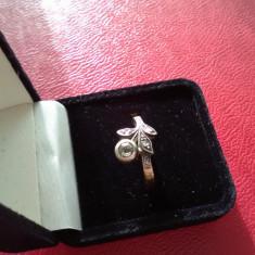 Bijuterii guldisch - Inel aur, Carataj aur: 14k, Culoare: Rosu