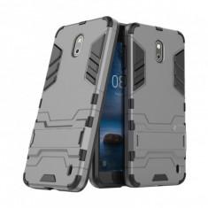 Husa hibrid g-shock pentru Nokia 2, gri - Husa Telefon