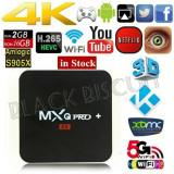 TV BOX OTT MXQ PRO+4K-3D,Quad S905X 64bit,2GB,16Gb,Dual Wi-FI,Android 7.1.2 ,NOI