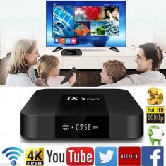 Tv Box Tanix TX3 Mini 4K-3D, Quad-Core 64bit, 1gb ddr3m8gb, Wi-Fi, Android 7, NOU. - Media player
