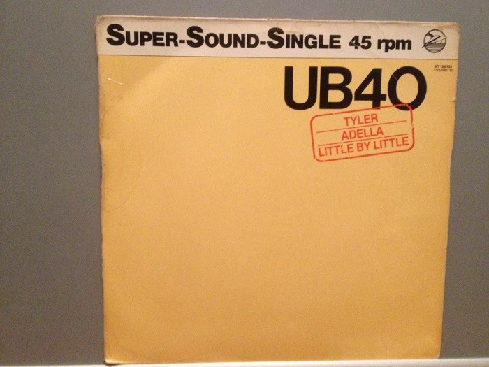 "UB40 - TYLER/ADELLA/LITTLE BY... (1980/GRADUATE/RFG) - VINIL Maxi-Single ""12/NM-"