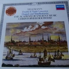 Telemann -double & triple concertos - vinyl - Muzica Clasica decca classics, VINIL