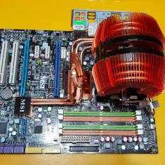 127S.Placa De Baza MSI P45 Platinum, 4xDDR2, Socket 775+Cooler, Pentru INTEL, LGA775, ATX