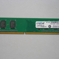 Memorie Ram Crucial 2 GB DDR3 1600 Mhz Desktop.