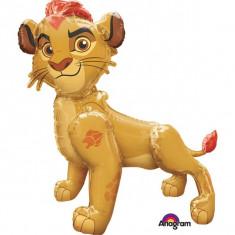 Balon folie airwalker Regele Leu - Lion Gurad - 121x116cm, Amscan 34650 - Baloane copii