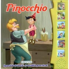 Citeste si Asculta Pinocchio - Carte de colorat
