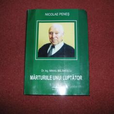 Nicolae Penes - Mihai Balanescu - Marturiile Unui Luptator, Mihai Nicolae