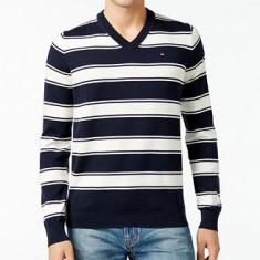Bluza Pulover anchior Tommy HIL. masura L XL - Pulover barbati Tommy Hilfiger, Marime: L, Culoare: Din imagine, Bumbac