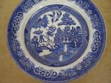 Farfurie decorativa, aplica din portelan japonez