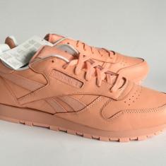 Adidasi Reebok Classic Leather Spirit -44EU- piele naturala, factura si garantie - Adidasi barbati Reebok, Culoare: Roz