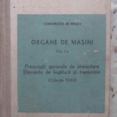 Organe De Masini Vol.1 A Prescriptii Generale De Proiectare E - Necunoscut, 410468