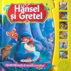Citeste si Asculta Hansel si Gretel - Carte de colorat