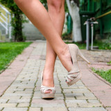 Pantofi dama Sweet bej