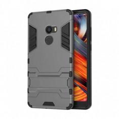 Husa hibrid g-shock pentru Xiaomi Mi Mix 2, gri, Plastic