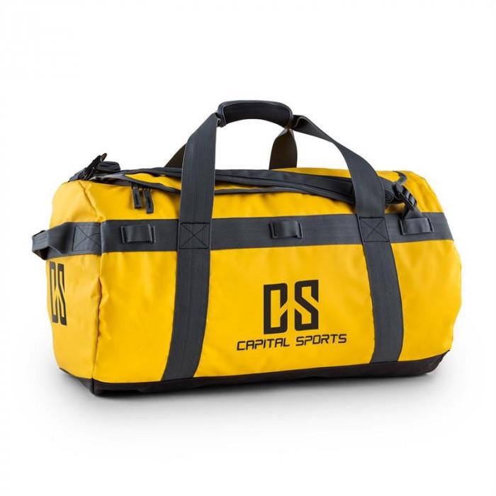 Capital Sport Travel M 60 I Duffel hidrofug rucsac galben robust foto mare