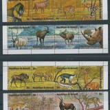 1974 Burundi-ANIMALE (FOLIO AUR)-Stampilat