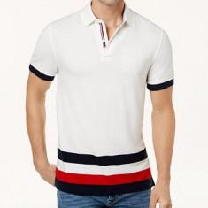 Tricou polo custom fit Tommy Hilfiger masura M L si XL (ultima colectie) - Tricou barbati Tommy Hilfiger, Culoare: Din imagine, Maneca scurta, Bumbac