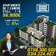 Apatament nou modern 2 camere Insignia Residence Militari / Pacii
