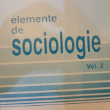 Elemente de sociologie, vol. 2
