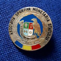 Insigna A.S. Monetaria Statului - Insigna fotbal