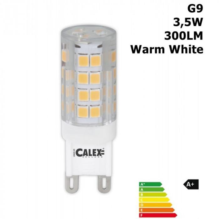 LED G9 240V 3,5W 300LM 2700K Clear Lens Warm White foto mare