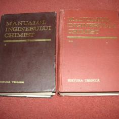 Manualul inginerului chimist (2 Volume) - 1973