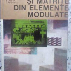 Stante Si Matrite Din Elemente Modulate - C. Dumitras, I. Gavrilas, Gh. Badescu, C. Militaru, 410660 - Carti Constructii