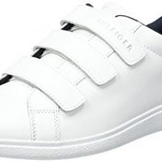 Adidasi Tommy Hilfiger Men's Danny 3a Low-Top Slippers marimea 40 si 42 - Adidasi barbati Tommy Hilfiger, Culoare: Alb, Piele naturala